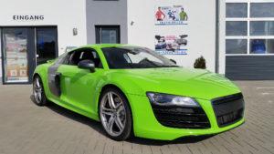 Audi R8 Grün