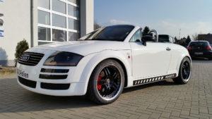 Audi TT Roadster weiss