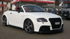 Audi TT weiss matt