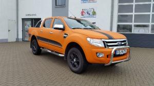 Ford Ranger orange matt