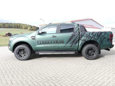 Ford Ranger - WILDTRAK wird STREETTRAK