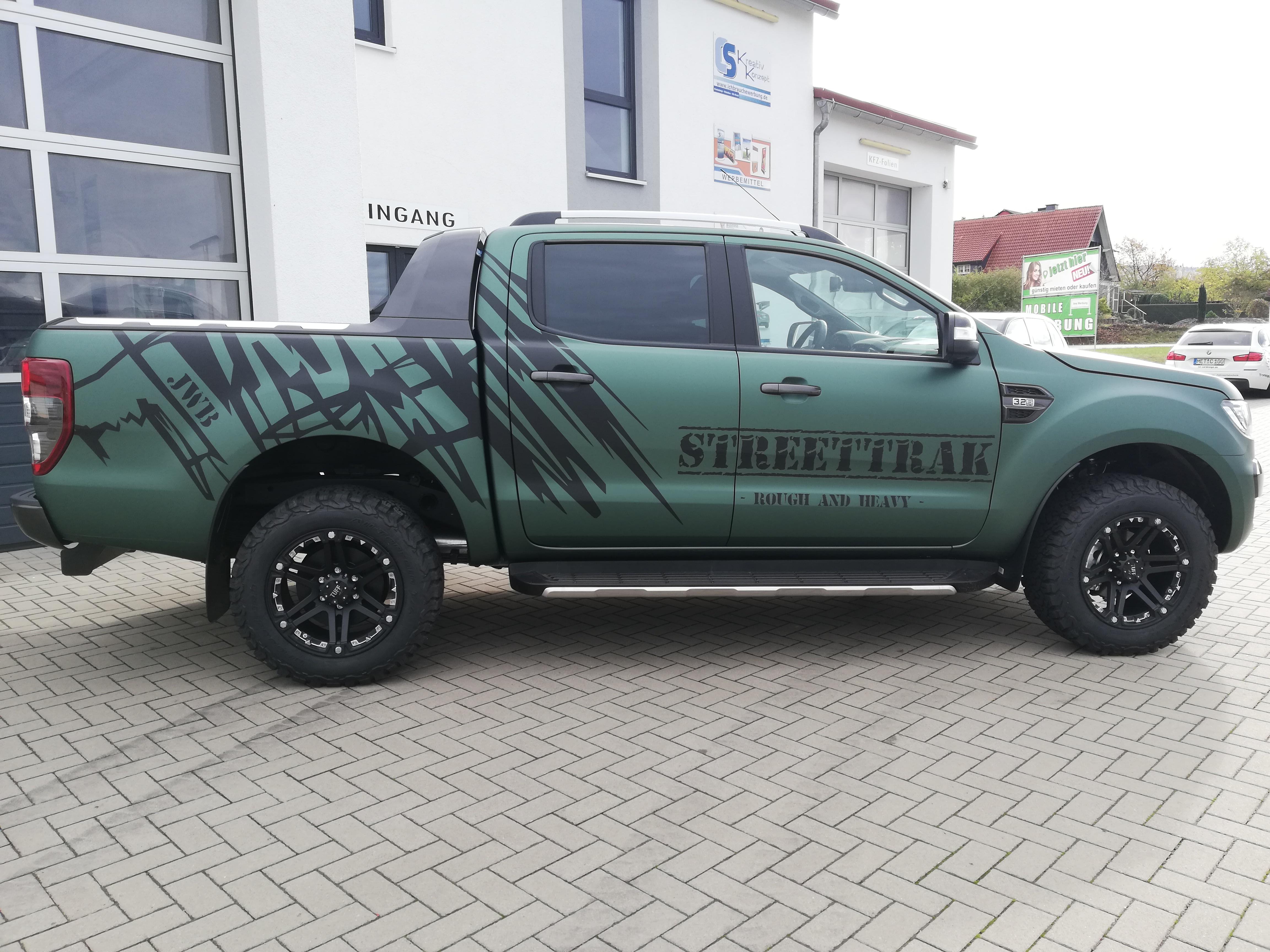 Ford Ranger foliert